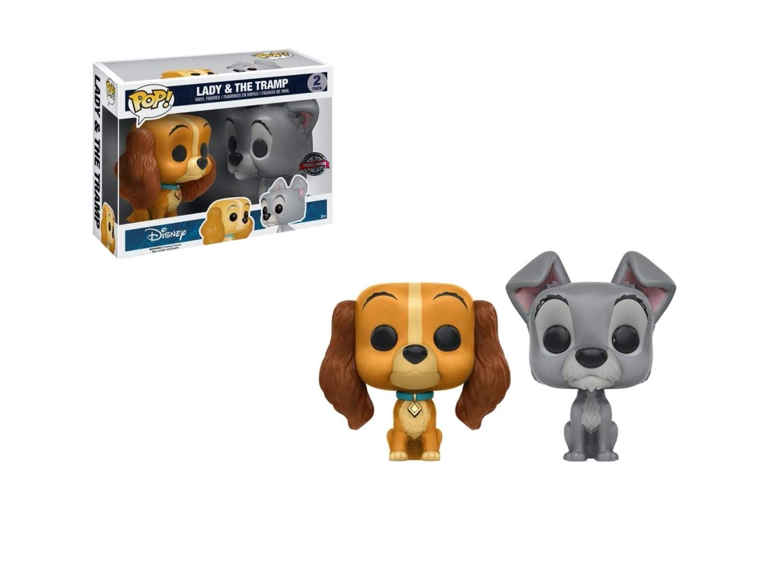 POP! Funko Disney Lady & The Tramp Two Pack (Exclusive)