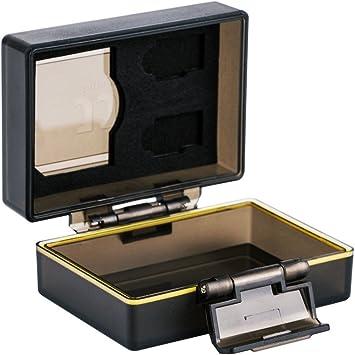 JJC Batería Multifunción y Estuche de Memoria Compatible con la Batería Canon LP-E6, LP-E6N or JJC B-LPE6 Battery and 1 x SD, 2 Micro SD Tarjetas: Amazon.es: Electrónica
