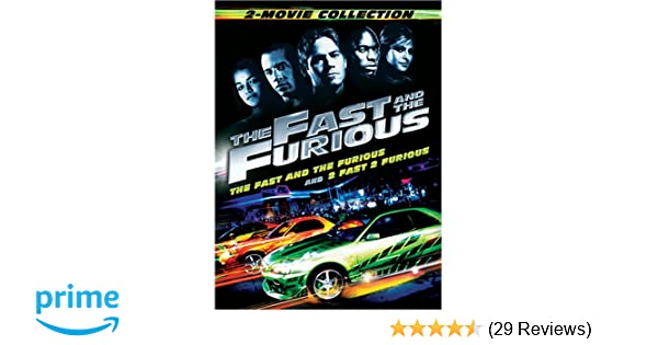 Amazon.com: The Fast and the Furious 2-Movie Collection: Vin Diesel, Paul Walker, Tyrese Gibson, Michelle Rodriguez, Eva Mendes, Jordana Brewster, ...