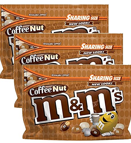 M&M's Coffee Nut Chocolate Candy, 9.6 oz
