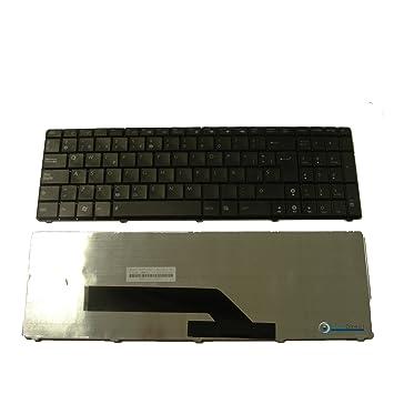 Teclado Español QWERTY negro para ordenador portátil ASUS X70IO: Amazon.es: Electrónica