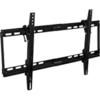 Mount-It Slim Tilt TV Wall Mount Low Profile Bracket for LED LCD Plasma Flat Screen Panels for 32, 37, 39, 40, 42, 48, 49, 50, 51, 52, 55, 60, 65 inch TVs up to VESA 600 x 400 and 130 lbs