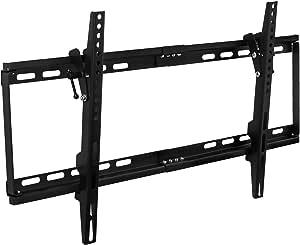 Mount-It! MI-1121M Slim Tilting TV Wall Mount Low Profile Bracket for Sony, Samsung, LG, Vizio, TCL LED/LCD/4K TVs 32-75 inch TVs up to VESA 600 x 400 and 130 lbs capacity