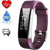 iposible Fitness Tracker with Heart Rate Monitor, Activity Tracker Watch Waterproof Smart Bracelet Pedometer Step Counter Sleep Monitor Calorie Counter Smart Watch GPS for Women Kids Men Android iOS