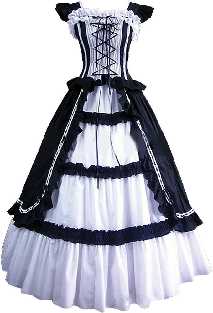 xiemushop Falda Lolita Gotica De Las Mujeres Corte Retro ...