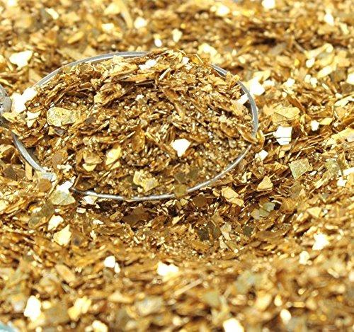 (Meyer Imports Gold Fusion Multigrain Shard Glitter - One Pound)