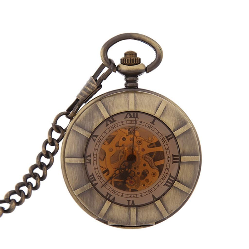 reloj steampunk como tesla analogo correa de cuero thinkgeek