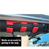moveland Grab Handles for Jeep Wrangler Roll Bars