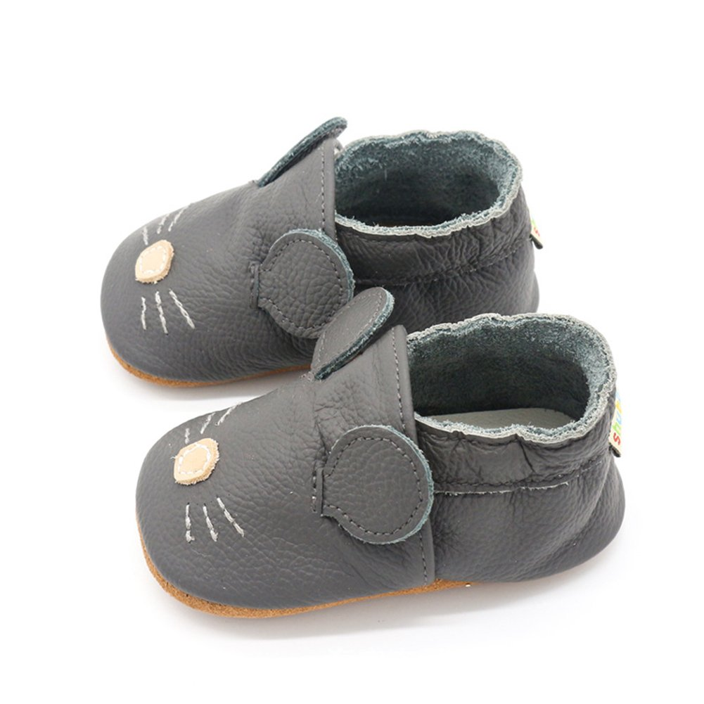 LSERVER Baby Shoes Soft Sole Toddler Shoes Crib Shoes Baby Moccasins for Baby Girls Boys Multi-Style