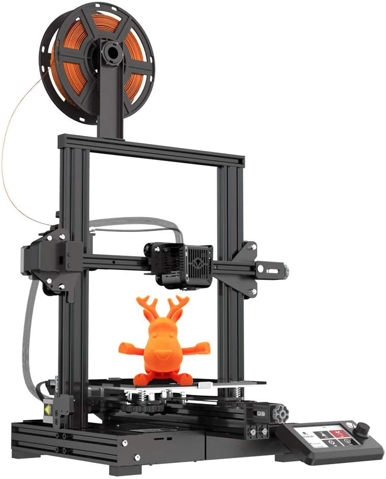 Voxelab Aquila 3D Printer with Removable Build Surface Plate,Fully Open Source and Resume Printing Function Build Volume 220x220x250mm
