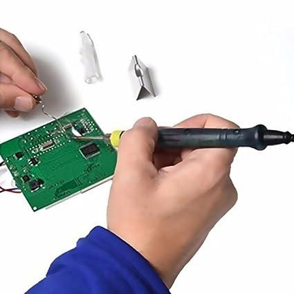Mini Portátil USB 5V 8 W Eléctrico Soldador de Hierro/Tip Touch Switch