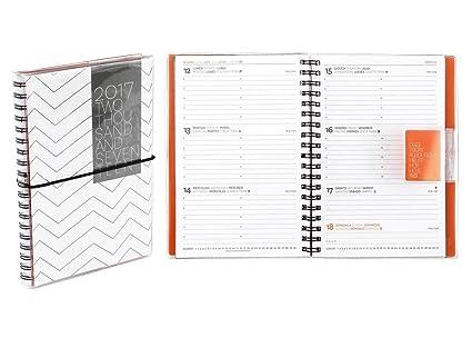 Work espiral Agenda Semanal de diseño 2016 - 2017, 16 meses ...