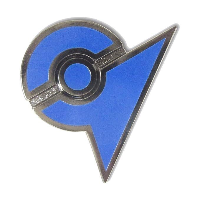 Verzamelingen Blue  50 mm Pokemon Go Team Badge  Team Mystic