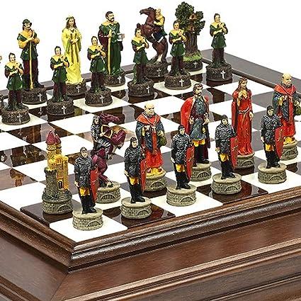 Bello Games New York, Inc. Robin Hood U0026 The Sheriff Of Nottingham Chessmen U0026