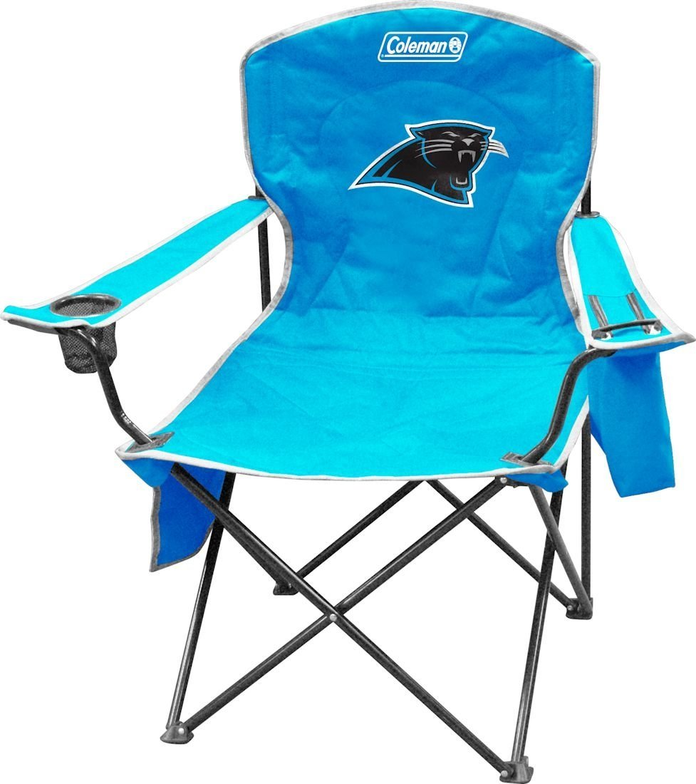 Amazon Com Nfl Portable Folding Chair With Cooler And Carrying