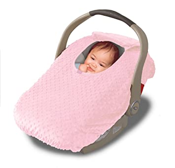 Jolly Jumper Sneak A Peek Infant Car Seat Cover (Pink): Amazon.ca: Baby