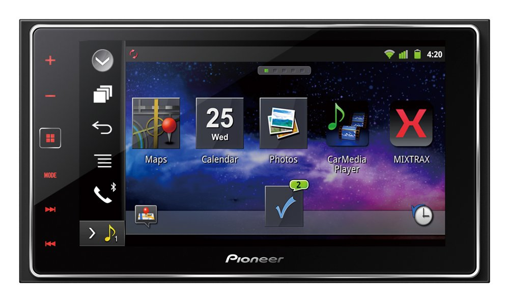 Pioneer AppRadio 4 SPH-DA120 6.2-Inch Capacitive Touchscreen Smartphone Receiver Display Pioneer Electronics USA Inc SPHDA120