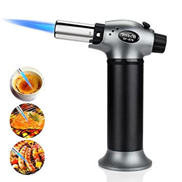 Camping & Hiking Outdoor Stoves High Quality Butane Burner Welding Outdoor Camping Picnic Bbq Manual Brazing Gas Torch Lighter Flame Gun For Kitchen To Rank First Among Similar Products