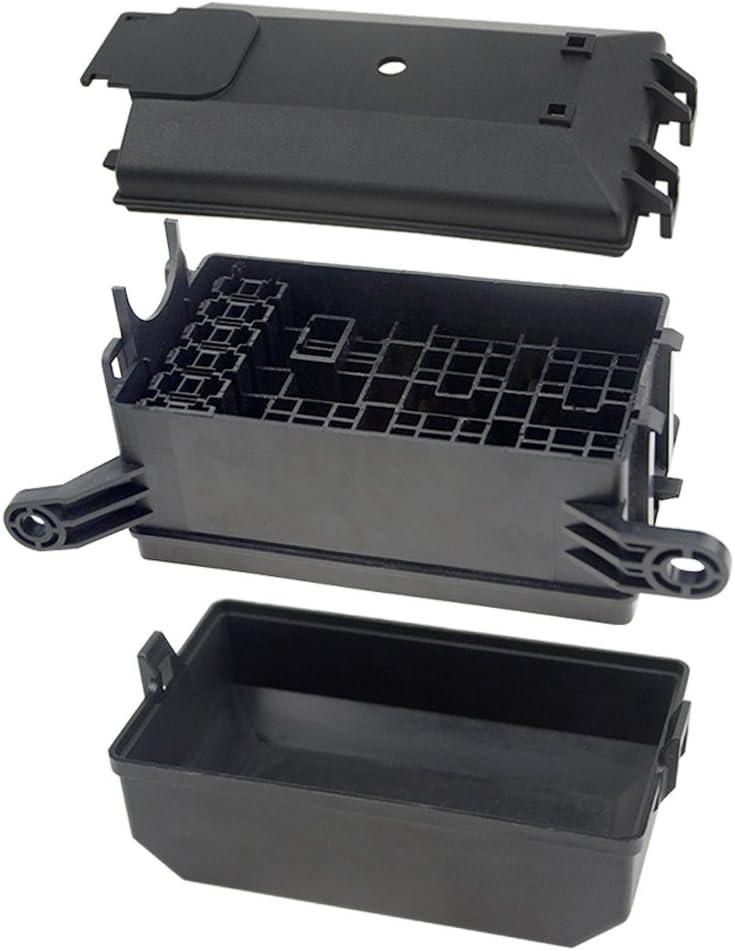 WMYCONGCONG Caja de fusibles de 12 ranuras para fusibles ATC//ATO con 41 terminales de cableado met/álicos para uso mar/ítimo automotriz