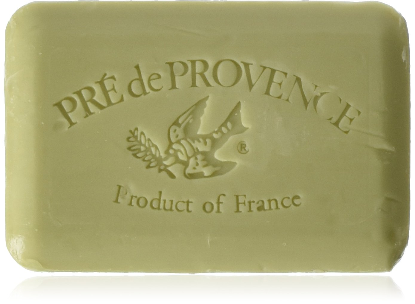 Pre de Provence Artisanal French Soap Bar Enriched with Shea Butter, Quad-Milled For A Smooth & Rich Lather (250 grams) - Green Tea