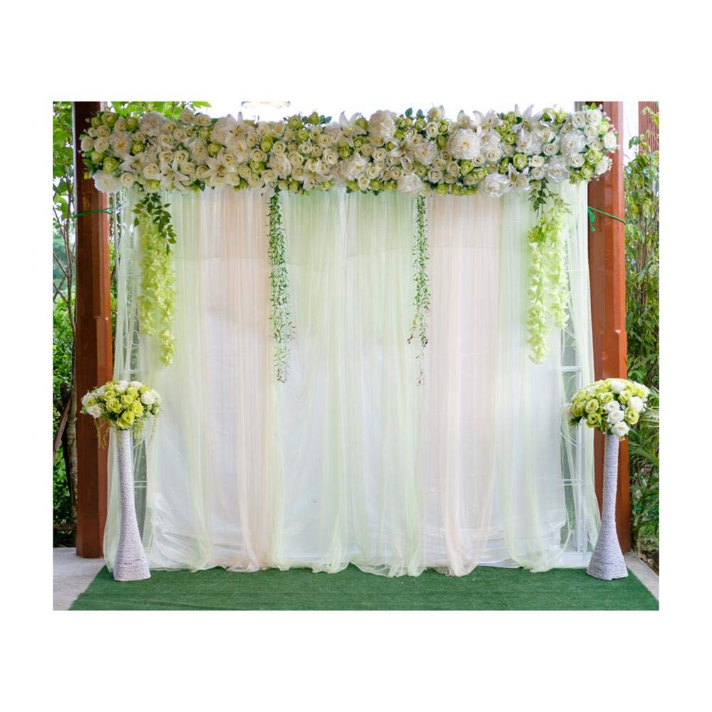 Buy Matefield Wedding Flowers Digital Photography Background Cloth Photo Studio Backdrop Online At Low Prices In India Amazon In