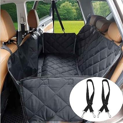 YANWEN Dog Car Seat Cover For Pets Pocket Waterproof Hammock Nonslip Back Seats Protector