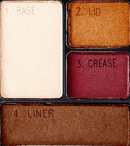 Maybelline Expert Wear Eyeshadow Quads, Sandstone Shimmer, 0.17 oz.