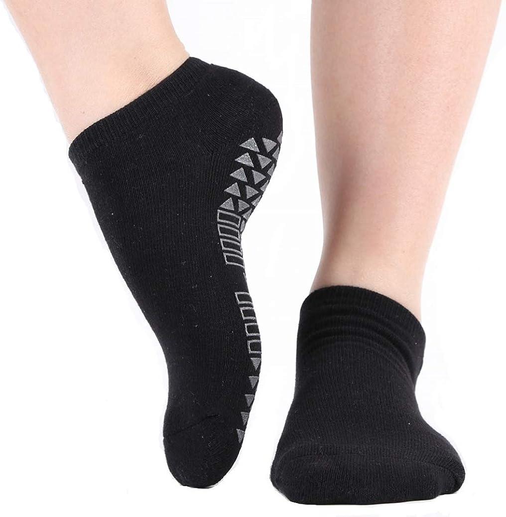 Non Skid Grip Socks for Yoga Barre Yoga Socks for Women with Grips Pilates Home /& Hospital