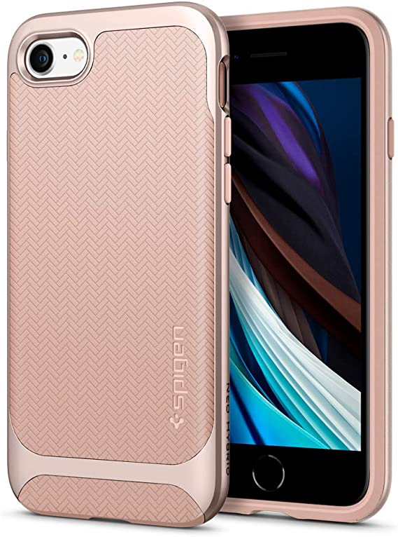 Spigen Neo Herringbone Hülle Kompatibel Mit Iphone Se Elektronik
