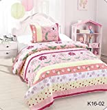 Golden Linens Twin Size Kids Bedspread Quilts Throw Review and Comparison