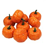 Coolrunner Realistic Fall Mini Artificial Pumpkins - Package of 12 Pumpkins