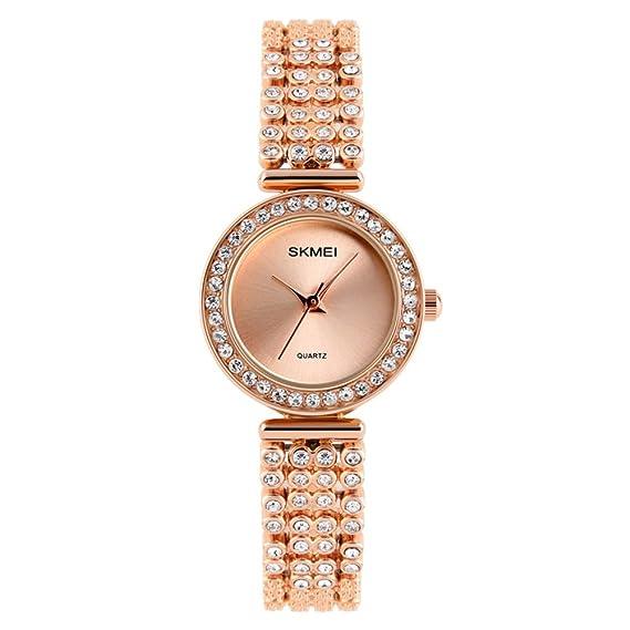 resistente al agua relojes/Moda de diamantes de imitación reloj/Relojes de carácter simple
