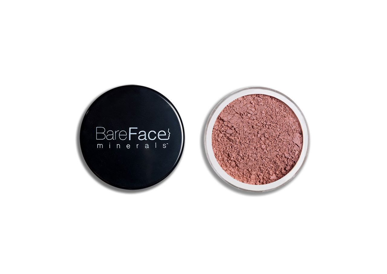 Bare Face Minerals Mineral Blush Blusher | Long Lasting | Oil Free Loose Powder Blush | Blusher Makeup | Blushers | 6g NET (Copper-Shimmer) BareFace minerals®