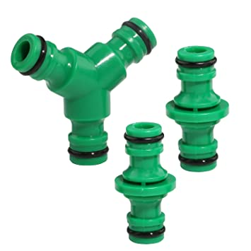 Amazoncom Heavy Duty 3 Way Garden Hose Connector 3 Way Splitter