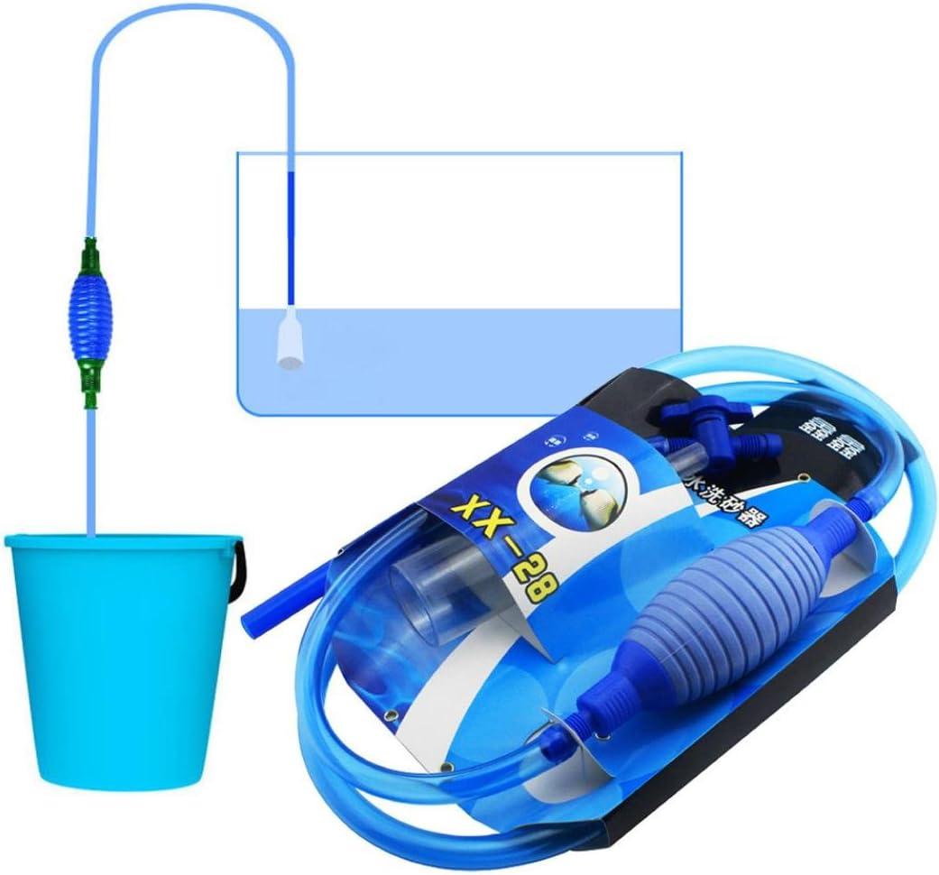 TAOtTAO Aspirador para acuario, con interruptor de cambio de agua ...