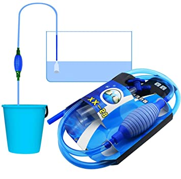 TAOtTAO Aspirador para acuario, con interruptor de cambio de agua: Amazon.es: Productos para mascotas