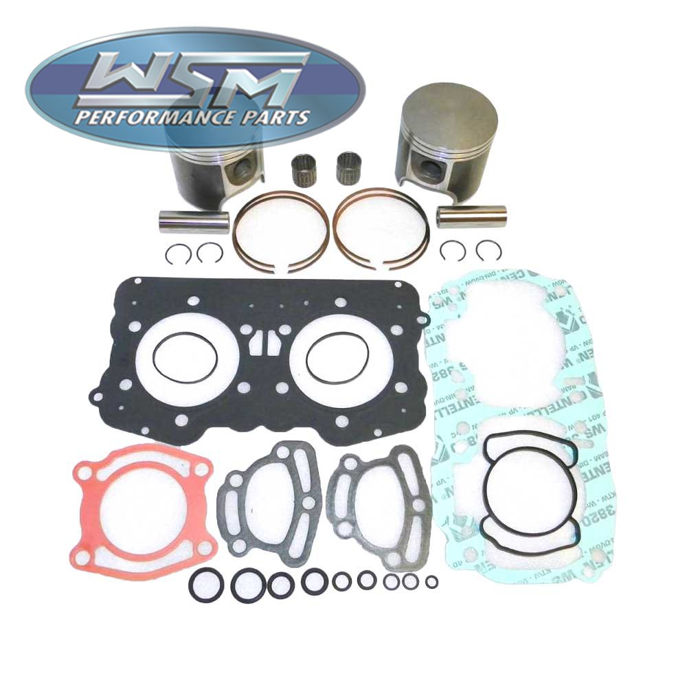 0.50mm Oversize to 75.50mm Bore 010-812-12 WSM Top End Kit 537cc