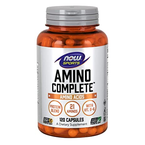 Now Foods Amino Complete, 360 Capsules Pack of 2