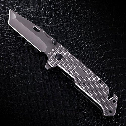 Grand Way Tanto Spring Assisted Pocket Knife - Pocket
