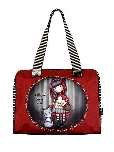 cc2f68a21a Santoro Gorjuss Sac à main Little Red Riding Hood Sac baril 41 x 26 x 9