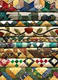 1000 quilts - COBBLE HILL Grandma's Quilts Jigsaw Puzzle (1000 Piece)