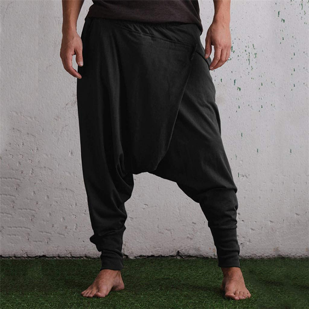 Pantalones Cintura Elastica Hombre Pantalones Hombre Skate ...