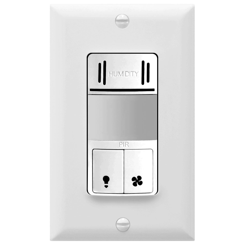 Humidity Sensor And PIR Motion Sensor Switch TopGreener TDHOS5 | eBay