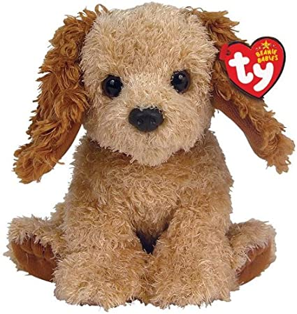 """TY Brown Puppy Dog large Beanie Baby 13/"""" plush toy"""