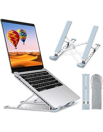 aluminium bross/é Macbook pro air non r/églable elevator Support pc portable rehausseur ordinateur portable pour bureau sans ventilateur compatible 13 pouces 15 pouces 17 pouces Microsoft Dell