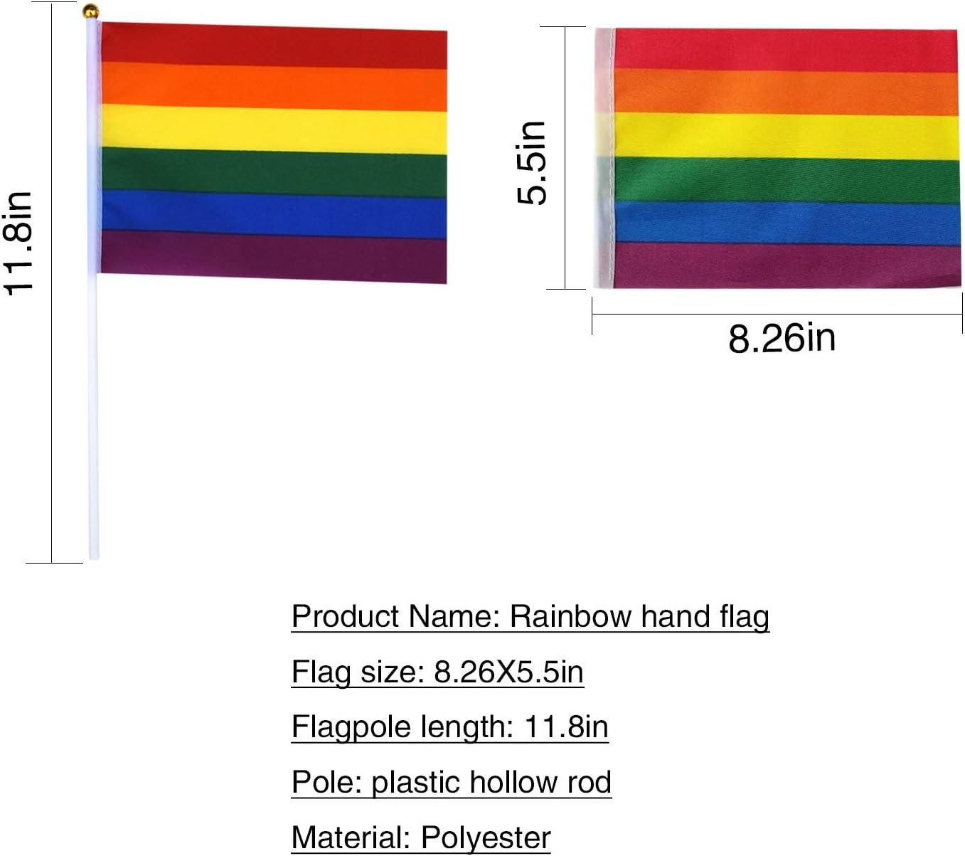Rainbow Stick Flag Spar.saa 66 Feet American//German//French//Brazil//Canada//Australia//British//Spanish//Portuguese//Russian Flag,60Pcs National Country World Flags Banner String