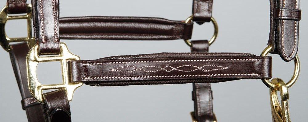 Harrys Horse Luxus Lederhalfter Supreme Halfter Leder Sehr Weich Gepolstert