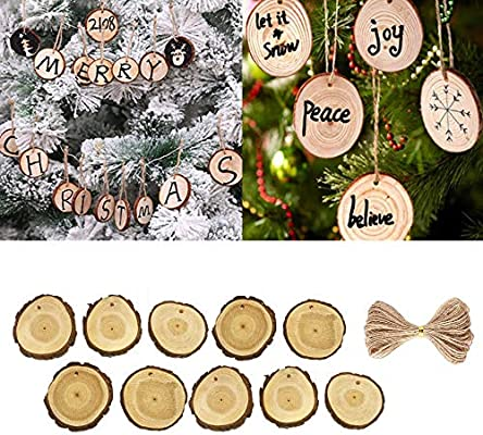 Demiawaking 10Pcs Checked Christmas Tree Bow Toppers with Metal Leaves and Bells Hanging Ornaments Pendant Decorations Bows for Presents Crafts Tree Card Making Xmas Decor