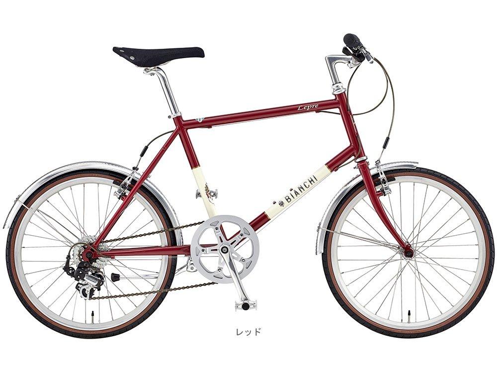 BIANCHI(ビアンキ) 2018 MINIVELO-7(1x7段)ミニベロバイク <レッド> B077Z35SWG 54