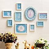 Hyun times Photo wall solid wood carved picture frame combination interior wall decoration album bedroom wall stickers